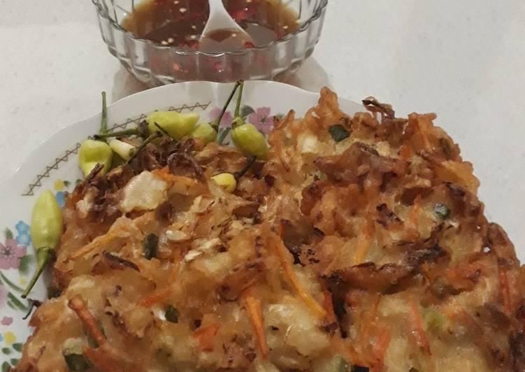Resep: Ote2, weci, bala2 atau bakwan sayur krenyes, istimewa