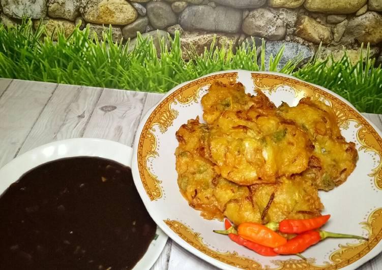 Cara memasak Ote-ote/bakwan sayur/weci
