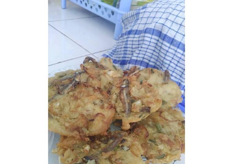 Cara memasak Bakwan sayur/weci lezat