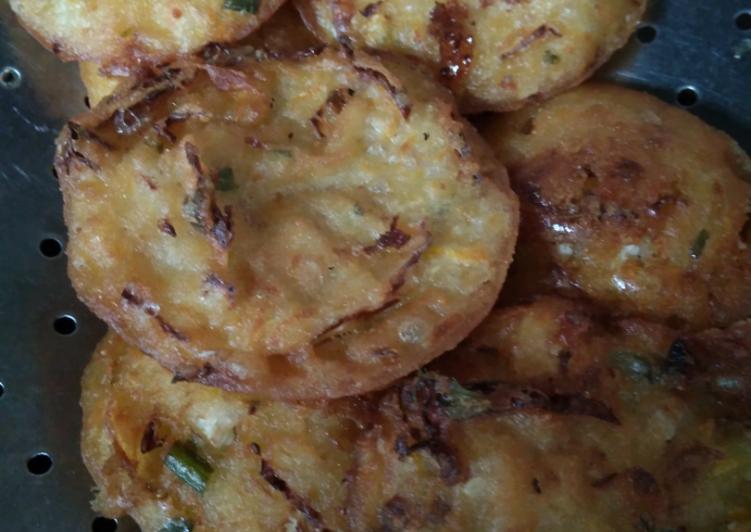 Cara Mudah memasak Ote-ote,bakwan atau weci malang enak