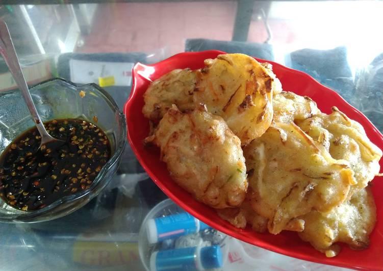 Resep memasak Weci / heci / bakwan / bala bala