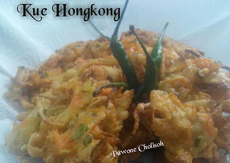 Resep: Kue Hongkong/Weci/Bakwan Sayur/Ote-ote/Bala-bala (Eggless but Crispy) enak