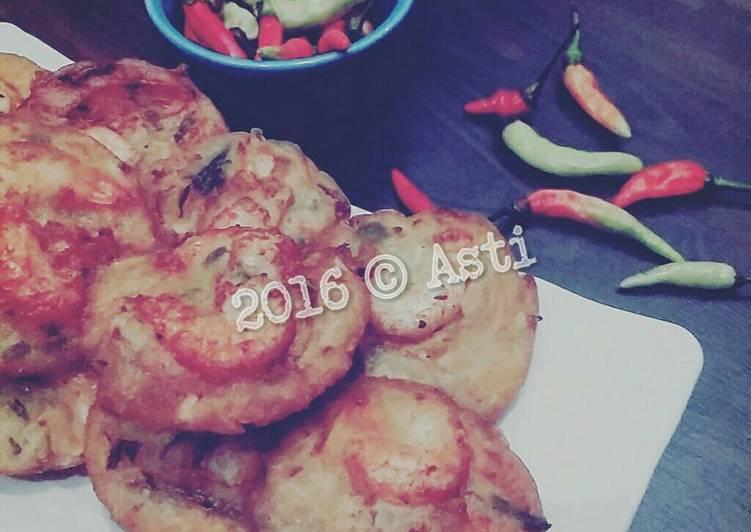Resep membuat Weci a.k.a Bakwan udang recook yny