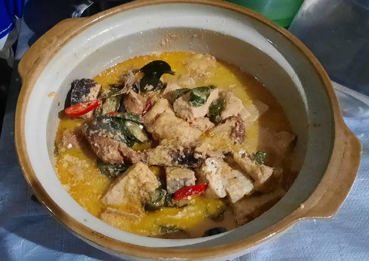 Resep: Kotok Tongkol Tahu gembus, & Tempe menjes