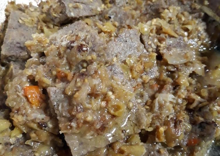 Resep memasak Menjes pedas lombok ijo lezat