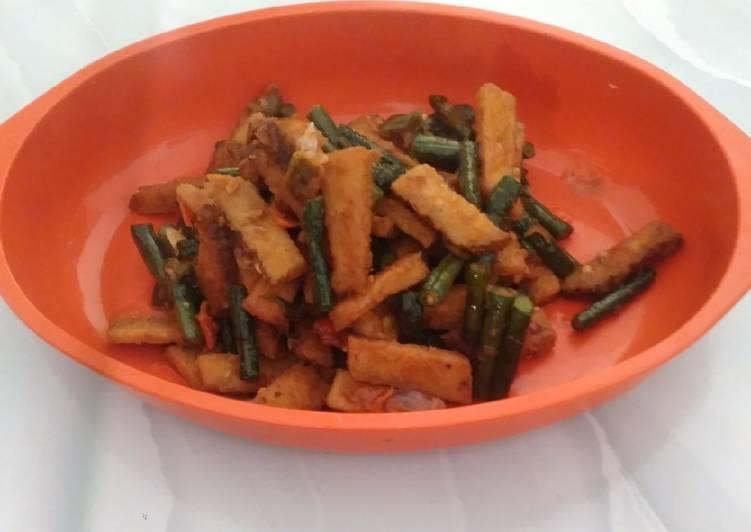 Resep: Oseng menjes pedas polll lezat
