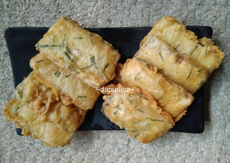 Resep memasak Goreng tepung tempe menjes plus daun jeruk ala dapur lisa