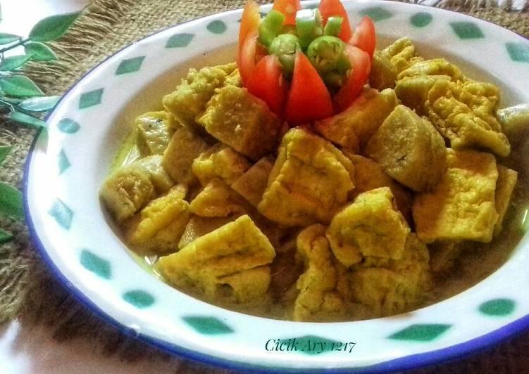 Resep: Opor kuning Tahu dan Tempe menjes #pr_recookmasakanawalanT