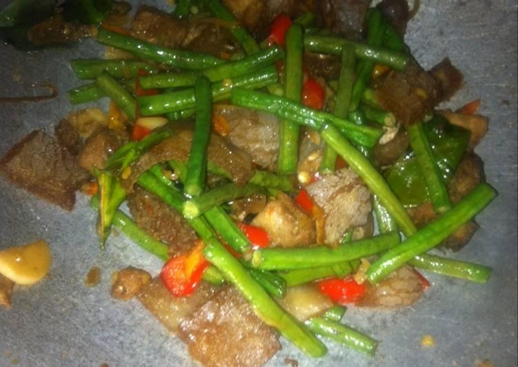 Resep memasak Tumis tempe menjes