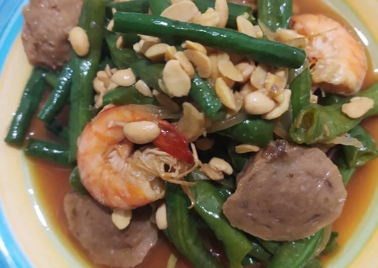 Resep mengolah Oseng kacang panjang