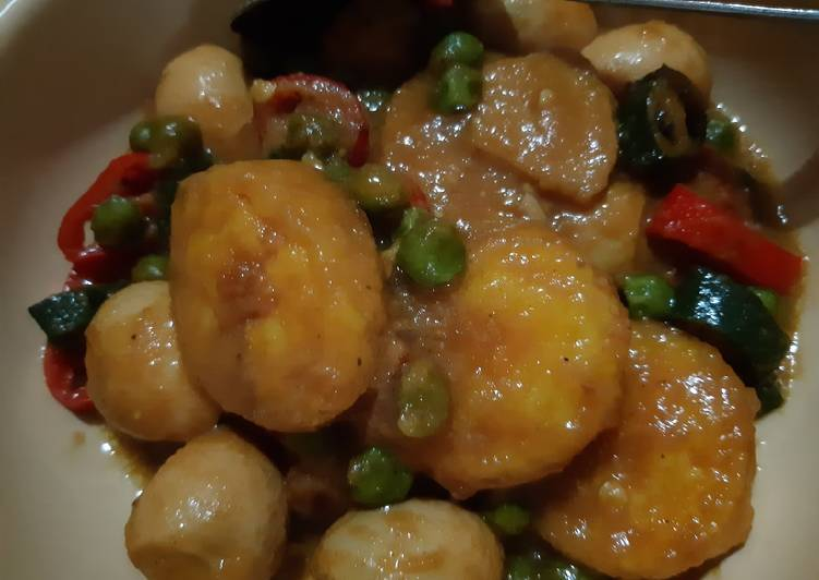 Resep memasak Oseng Telur Puyuh dan Egg Tofu