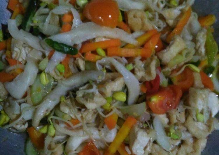 Resep: Oseng sayur komplit istimewa
