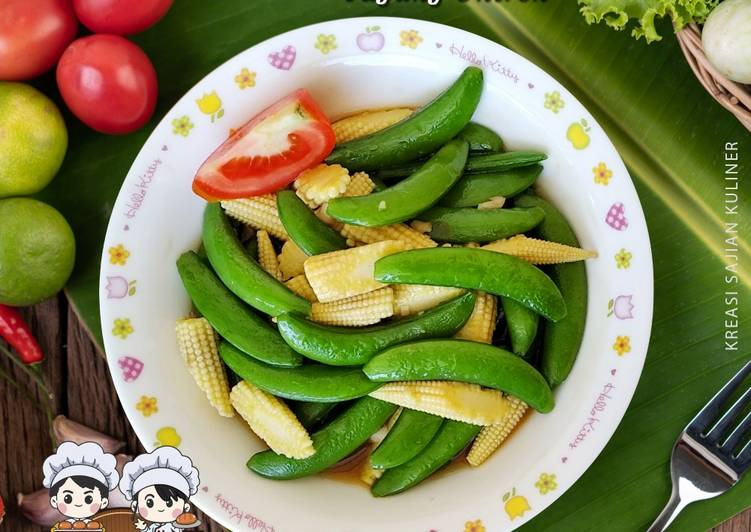 Resep mengolah Oseng kacang kapri jagung untren