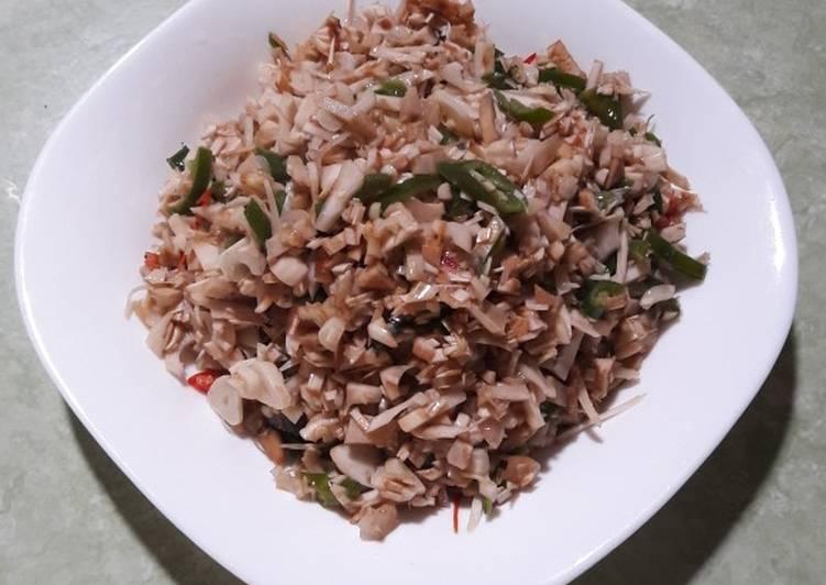 Resep memasak Oseng nangka muda / Gori