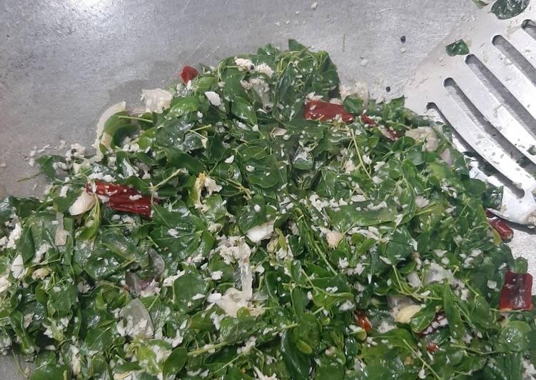Resep: Tumis daun kelor sederhana dan enak istimewa