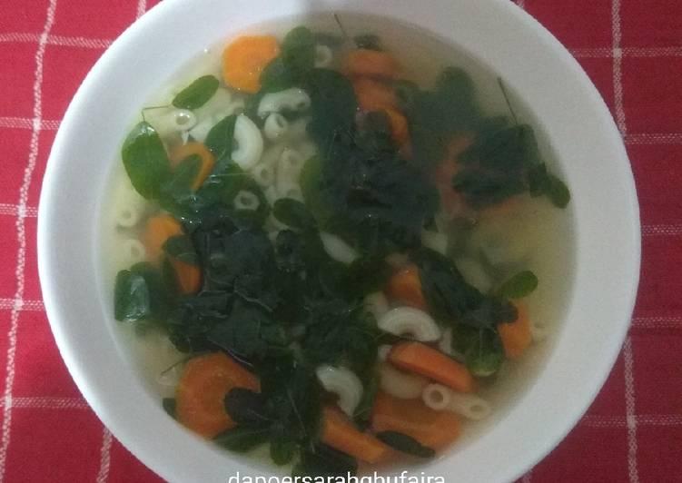 Resep: Sup segar daun kelor lezat