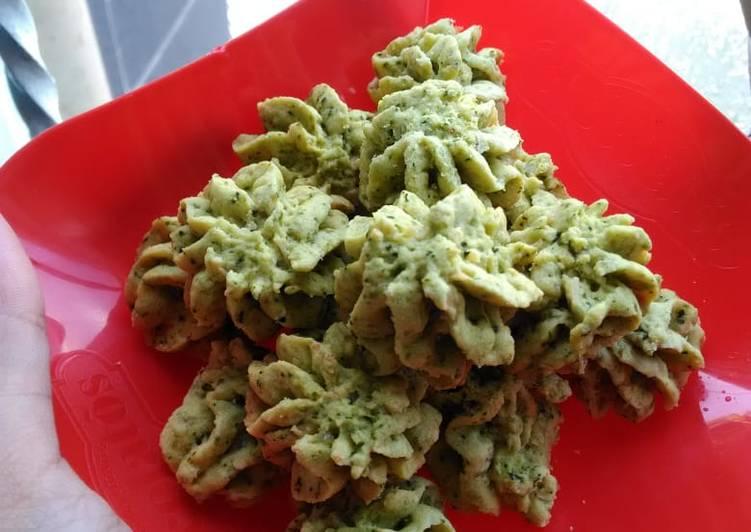 Resep memasak Cookies daun kelor lezat