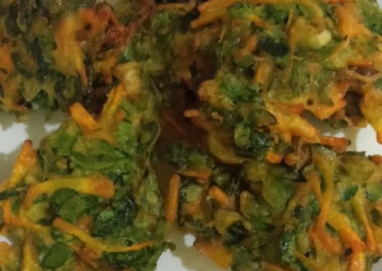 Resep: Bakwan daun kelor lezat