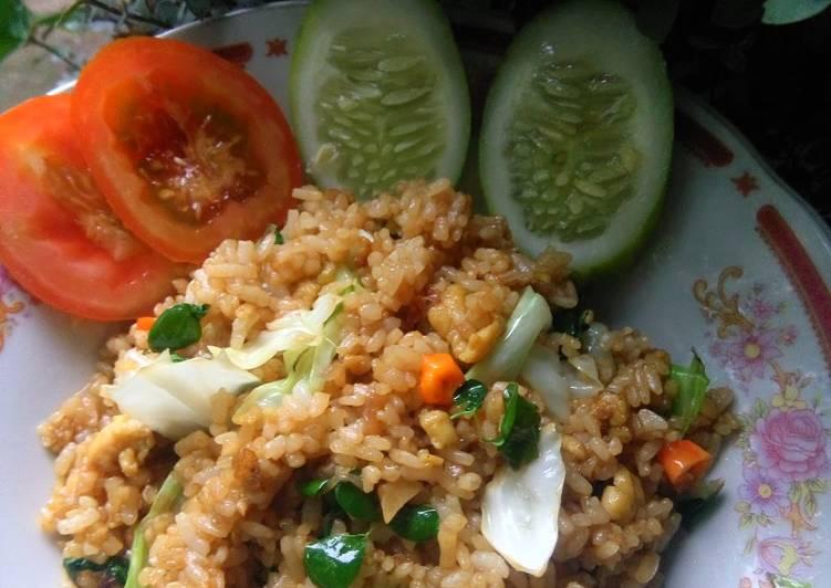 Resep: Nasi goreng daun kelor
