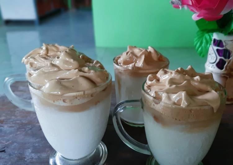 Resep: Dalgona coffe