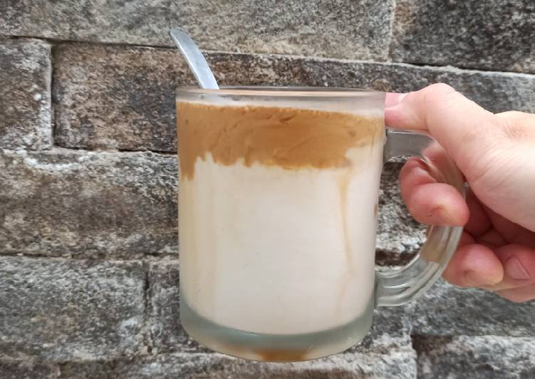 Cara mengolah Rahasia Dalgona coffee ter-the best enak