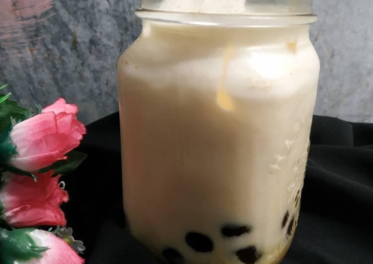 Resep: Brown sugar boba milk