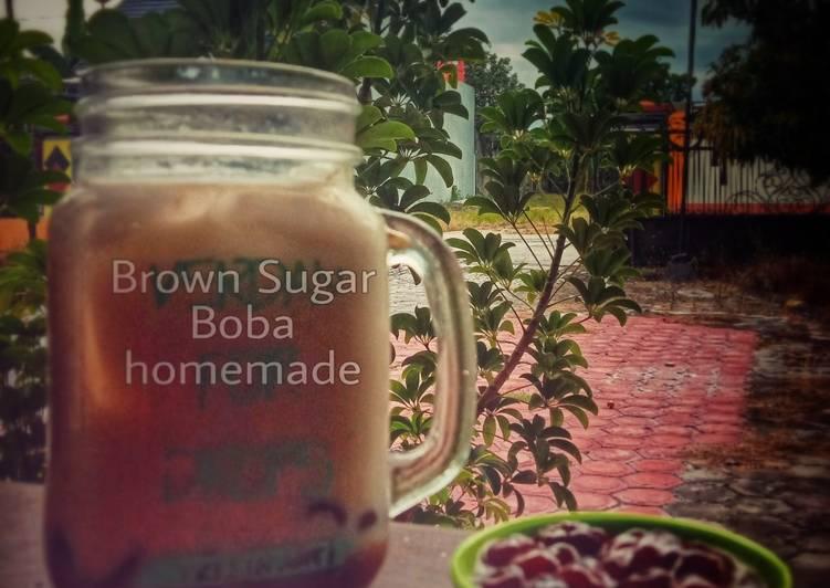 Resep: Brown sugar boba homemade