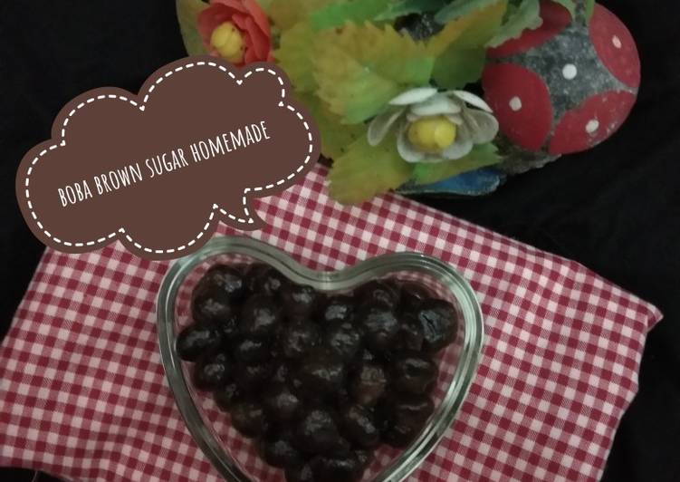 Resep: Boba brown sugar homemade