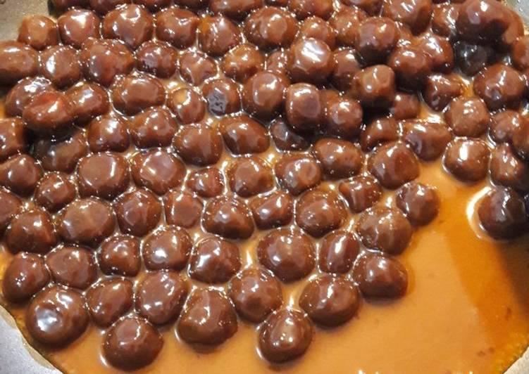 Cara Mudah memasak Bobba brown sugar