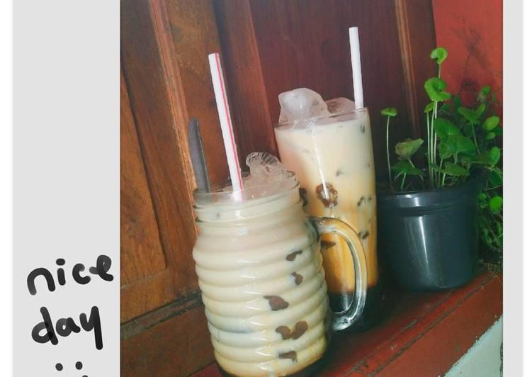 Resep: Boba drink brown sugar