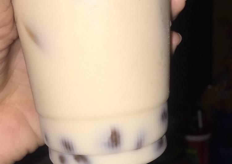 Cara Mudah mengolah Brown sugar fresh milk ala-ala