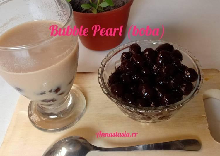 Resep: Bubble pearl (boba) enak