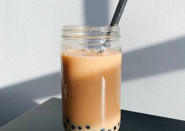 Resep: Boba thai tea
