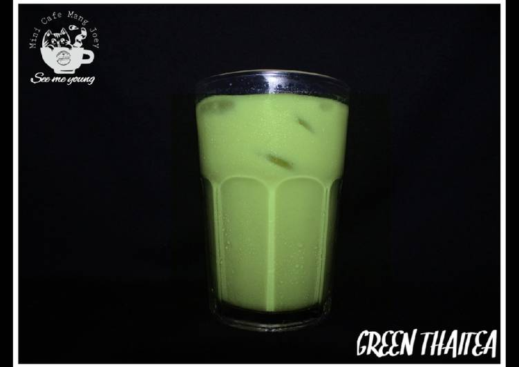 Resep: Green thai tea chocolatos ekonomis lezat