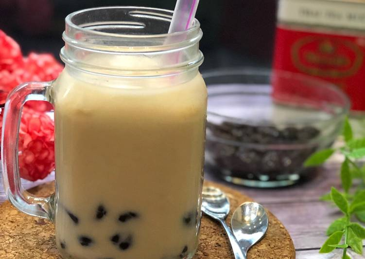Resep: Bobba Thai Tea ala Tiger Kitchen lezat