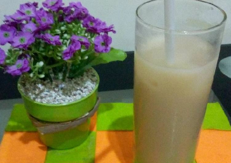 Cara Mudah membuat 13. Thai tea ice lezat