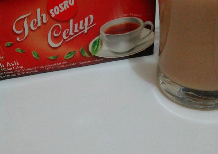 Cara Mudah membuat Thai tea KW super by teh celup sosro