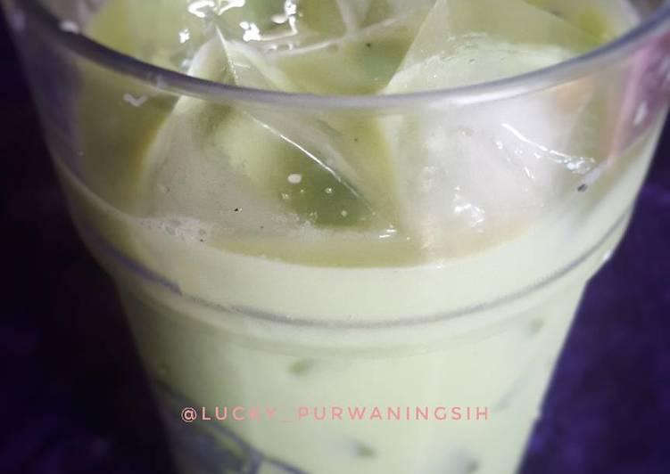 Green Thai Tea #bikinramadanberkesan
