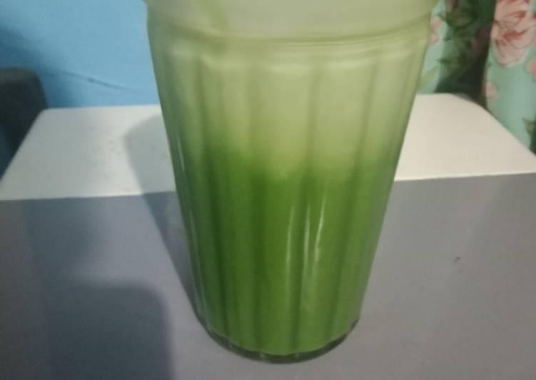 Resep: Thai green tea ala dum dum lezat
