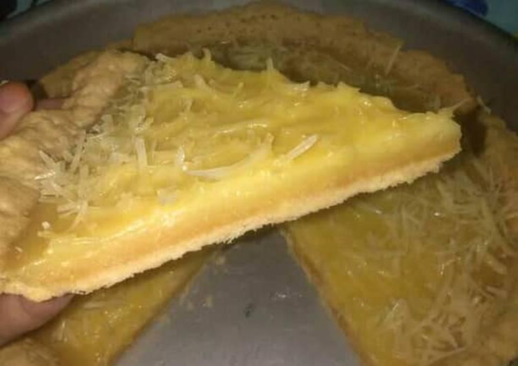 Resep mengolah Pie susu teflon