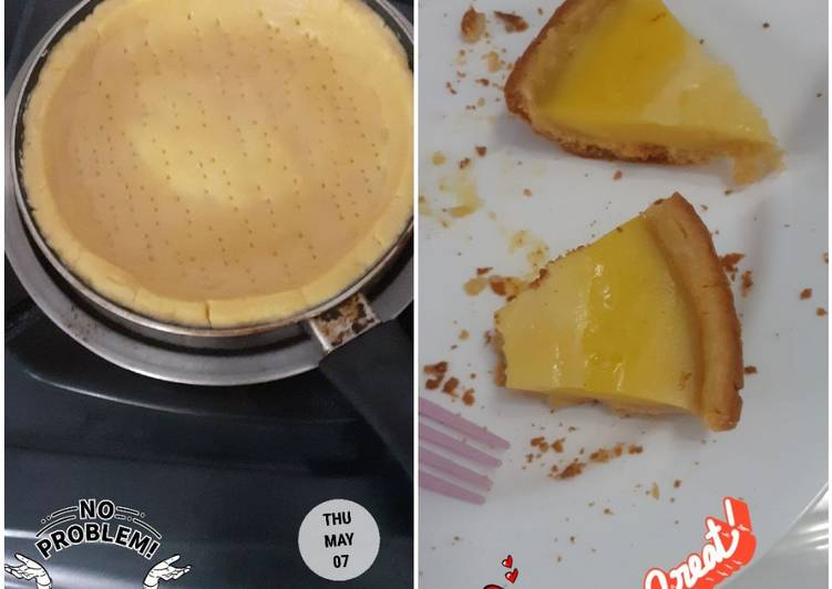 Cara membuat Pie Susu teflon endul👍