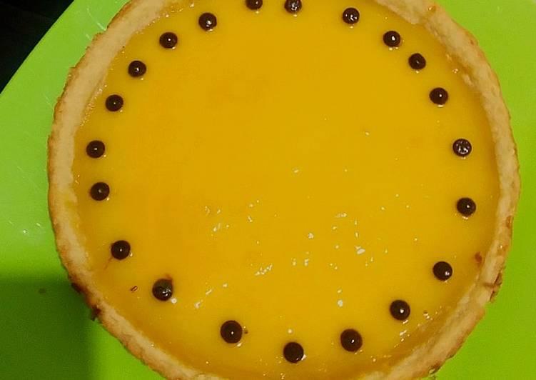 Cara membuat Pie susu (teflon) lezat
