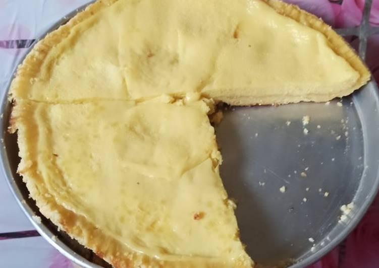 Cara Mudah mengolah Pie susu teflon lezat