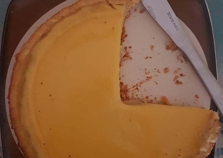 Cara Mudah membuat Pie susu teflon praktis
