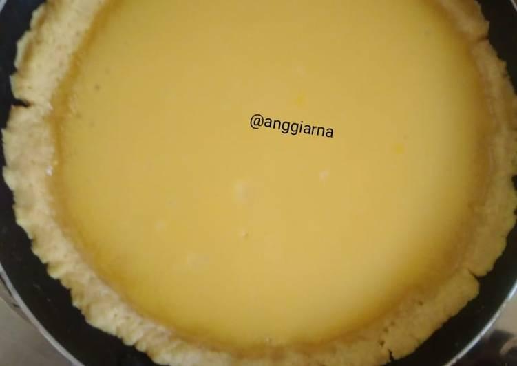 Resep: Pie susu Teflon (ANTI GAGAL, TAKARAN SENDOK. COCOK BANGET UTK PEMULA) ada tips dlam note dibawah ini