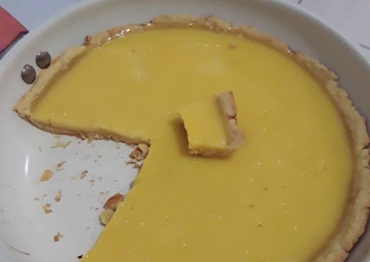 Resep membuat Pie susu teflon