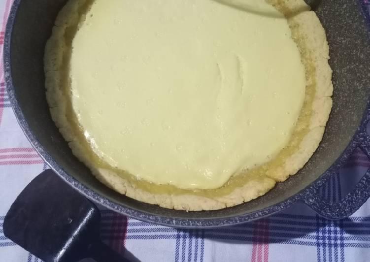 Cara mengolah Pie susu teflon istimewa