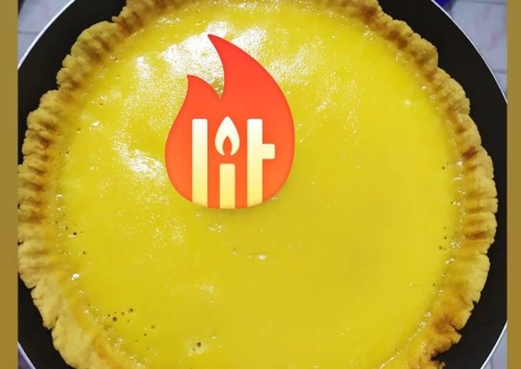 Resep: Pie Susu (teflon uk. 20cm) enak