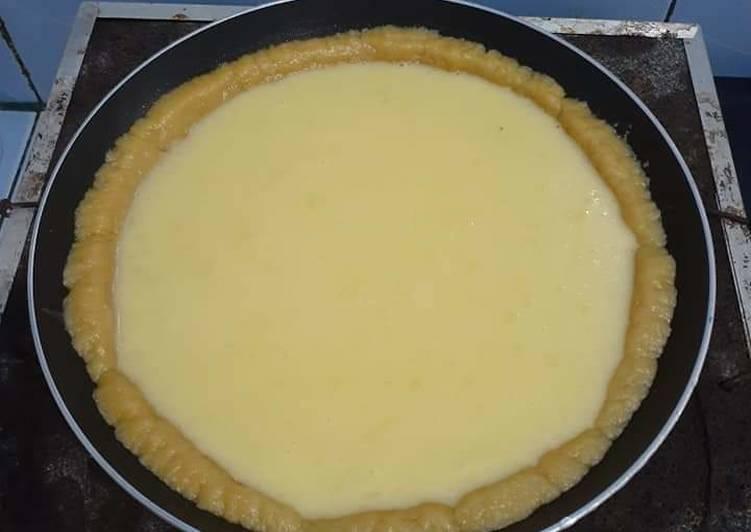 Resep mengolah Pie susu teflon istimewa