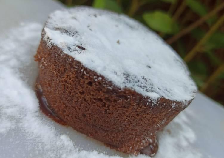 Resep: Milo lava cake